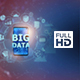 Big Data on Mobile Phone - Left Side (FULL HD) - VideoHive Item for Sale
