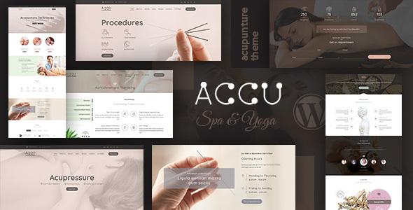 Accu - Healthcare, Massage Theme
