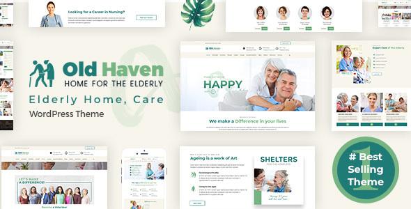 Old Haven | Elderly Home, Care WordPress Theme
