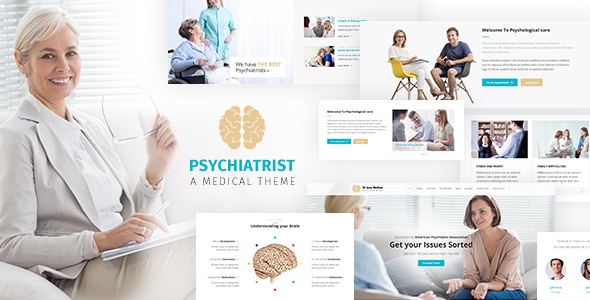 Psychology - Counseling WordPress Theme