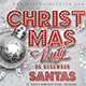 Red And Silver Christmas Party Flyer - GraphicRiver Item for Sale