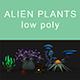 Alien Plants set 001 - 3DOcean Item for Sale