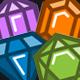Precious Stones and Gems Icon Set - GraphicRiver Item for Sale