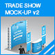 Trade Show Booth Mock-up v2 - GraphicRiver Item for Sale