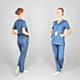 Surgical nurse 96 - 3DOcean Item for Sale
