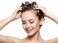 Beautiful smiling woman soaping the hair - PhotoDune Item for Sale