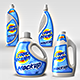4 Plastic Bottle Mock-ups Set - GraphicRiver Item for Sale