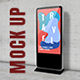 Digital Monitor Screen Standee Mockup - for Exhibition or Show Case - GraphicRiver Item for Sale
