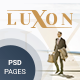 LUXON - Luxury Services Modern Web PSD Template - ThemeForest Item for Sale
