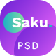 Saku - Agency And Business PSD Template - ThemeForest Item for Sale