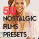 50 Nostalgic Films Lightroom Presets and LUTs - GraphicRiver Item for Sale