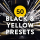 50 Black and Yellow Lightroom Presets and LUTs - GraphicRiver Item for Sale