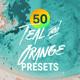50 Teal & Orange Lightroom Presets and LUTs - GraphicRiver Item for Sale