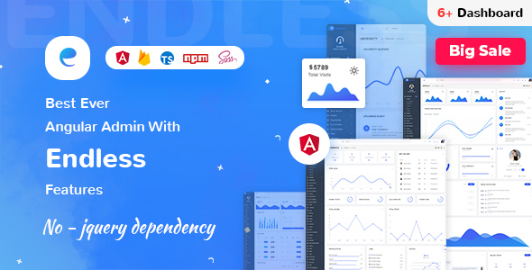 Endless - Angular 9 Admin Template