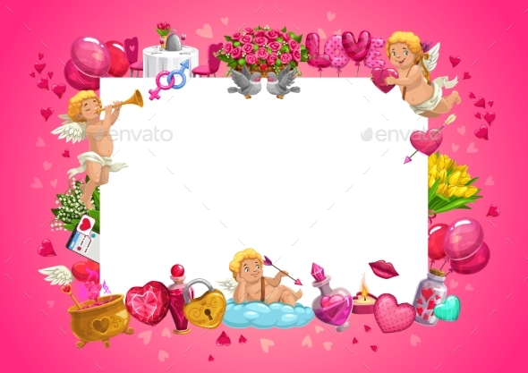 Cupids, Valentines Day Gifts, Flowers, Love Hearts