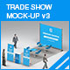 Trade Show Booth Mock-up v3 - GraphicRiver Item for Sale