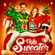 Ugly Sweater Party - GraphicRiver Item for Sale