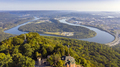 View of Chattanooga and the Tennessee Riverfrom Lookout Mountain - PhotoDune Item for Sale
