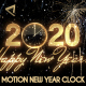 Glamorous New Year Countdown Clock 2020 V1 - VideoHive Item for Sale