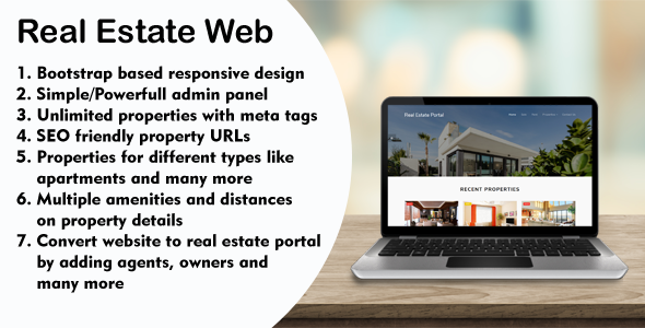 Real Estate Web - with Agency Portal and Multi-Language Management System Download