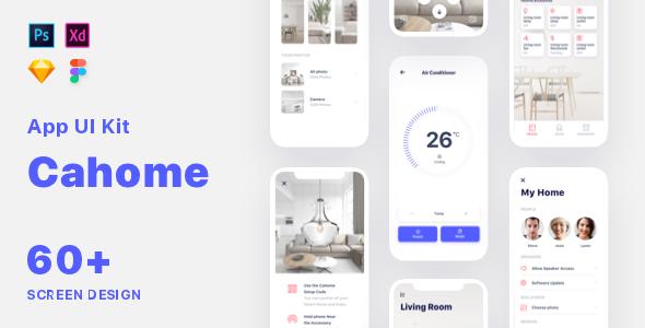 Cahoome - Smart Home UI Kit