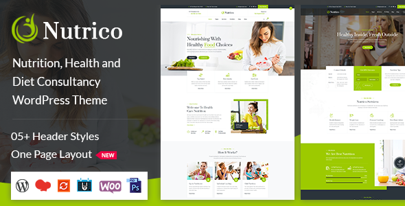Nutrico - Nutrition Health Services WordPress Theme