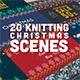 Knitting Christmas Scenes - VideoHive Item for Sale