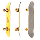 Yellow skateboard with PBR textures 21 - 3DOcean Item for Sale