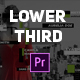 Clean Modern Lower Third - VideoHive Item for Sale