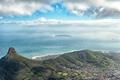 View from the top of Table mountain in Cape Town - PhotoDune Item for Sale