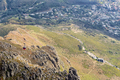 Table Mountain Cableway as seen from top of Table mountain - PhotoDune Item for Sale