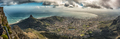 Panoramic view from top of Table mountain in Cape Town - PhotoDune Item for Sale