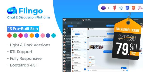 Flingo - Chat & Messaging Platform