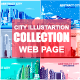 Collection City Illustrations - GraphicRiver Item for Sale