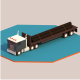 low poly truck - 3DOcean Item for Sale