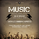 Music Indie Flyer / Poster - GraphicRiver Item for Sale