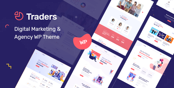 Traders - Digital Marketing & Agency WordPress Theme