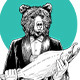 Bear Catching Salmon - GraphicRiver Item for Sale
