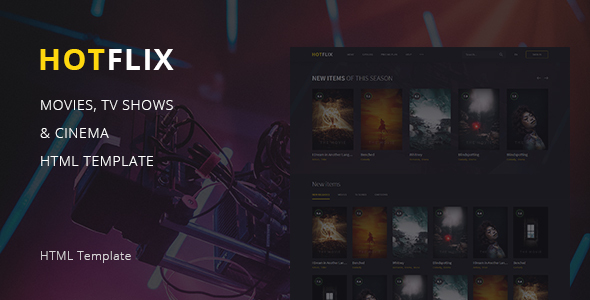 HotFlix – Online Movies, TV Shows & Cinema HTML Template