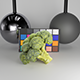 Cob of broccoli 27 - 3DOcean Item for Sale