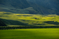 Wonderful Icelandic landscape, nature grassland in the highland mountains in late afternoon lights - PhotoDune Item for Sale