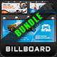 Car Wash Billboard Bundle - GraphicRiver Item for Sale