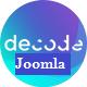 Decode - Premium Business Joomla Template - ThemeForest Item for Sale
