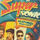 Super Sonic Retro Poster - GraphicRiver Item for Sale