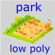 Park games Low-poly - 3DOcean Item for Sale