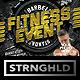 Fitness Event Flyer Template - GraphicRiver Item for Sale