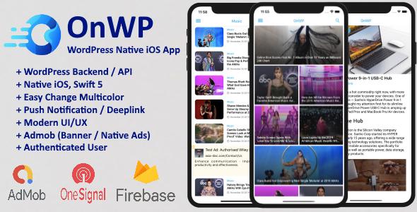 OnWP - WordPress Native iOS App Download