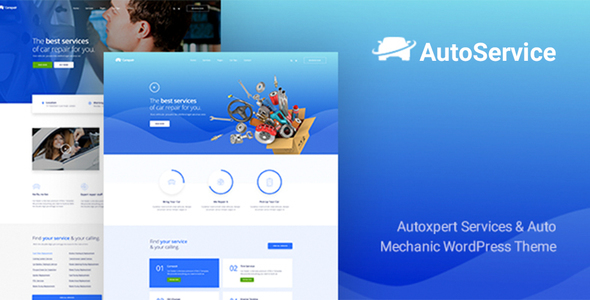 AutoService - A Car Repair Services & Auto Mechanics WordPress Theme