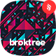 Broktree - Abstract Triangle Shapes Backgrounds - GraphicRiver Item for Sale