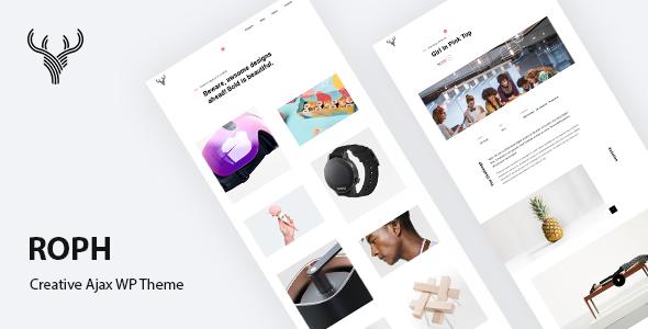 Roph - Creative Ajax Portfolio WordPress Theme